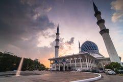 Shah Alam moské Royaltyfria Bilder