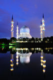 Shah Alam Mosque Stock Photos