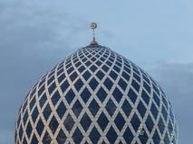 Shah- Alammoscheenhaube, in geerntet stockfotografie