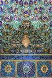 Shah Cheragh复合体在设拉子 免版税图库摄影