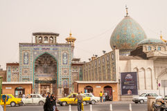 Shah Cheragh Mosque Royalty Free Stock Photography