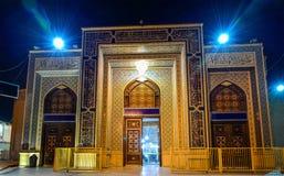 Shah Cheragh, pogrzebowy zabytek i meczet w Shiraz, Iran, - obrazy royalty free