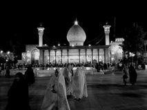 SHAH CHERAGH SHIRAZ SHRINE Stock Photography