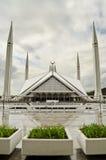 Shah Faisal清真寺伊斯兰堡 库存照片