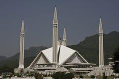 Shah Faisal Moschee Lizenzfreie Stockfotos