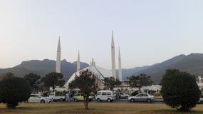 Shah Faisal Moschee Lizenzfreies Stockfoto