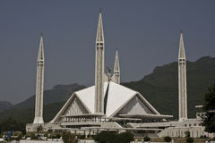 Shah Faisal Mosque Royalty Free Stock Photos