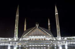 Shah Faisal Mosque Islamabad Royalty Free Stock Image