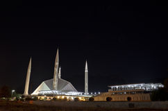 Shah Faisal Mosque Islamabad Royalty Free Stock Photos