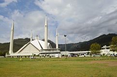 Shah Faisal Mosque Islamabad Stock Images