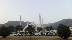 Shah Faisal Mosque Royalty Free Stock Photo