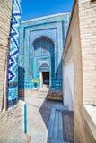 Shah-i-Zinda, avenue of mausoleums in Samarkand, Uzbekistan Stock Images