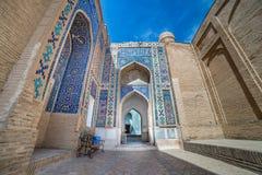 Shah-i-Zinda, avenue of mausoleums in Samarkand, Uzbekistan Stock Photography