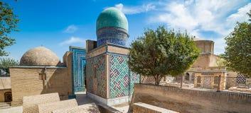 Shah-i-Zinda, avenue of mausoleums in Samarkand, Uzbekistan Royalty Free Stock Photography