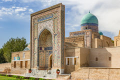 Shah-i-Zinda, avenue of mausoleums in Samarkand, Uzbekistan Stock Photos