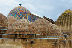 Shah-i-Zinda Ensemble in Samarkand, Uzbekistan. Royalty Free Stock Images