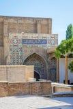 Shah-i-Zinda mausoleum, Samarkand Royalty Free Stock Photo
