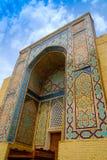 Shah-I-Zinda memorial complex, necropolis in Samarkand, Uzbekistan. Stock Images
