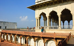 Shah Jahani Mahal in Agra fort, India Royalty Free Stock Photography