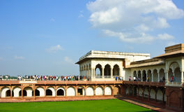 Shah Jahani Mahal in Agra fort, India Royalty Free Stock Photos