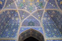Shah (imam) meczet w Isfahan, Iran Zdjęcia Stock