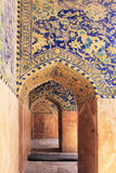 The Shah Mosque (Imam Mosque) on Naqsh-e Jahan Square in Isfahan city, Iran. Royalty Free Stock Images