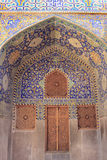 The Shah Mosque (Imam Mosque) on Naqsh-e Jahan Square in Isfahan city, Iran. Royalty Free Stock Photography