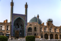 The Shah Mosque in Isfahan Royalty Free Stock Photography