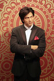 Shah Rukh Khan. Wax statue at Madame Tussauds in London stock images