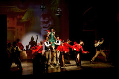 Shahana Goswami live of Stage Royalty Free Stock Photography