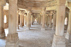 Shahar-ki-maasjid (mosque), chapaner, Gujarat Royalty Free Stock Images