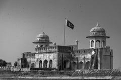 Shahi Qila Lahore Punjab Pakistan stock afbeelding