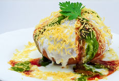 Shahi Raj kachori Stock Photography