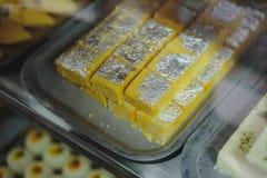 Shahi Tukda, das Rezept wird geglaubt, aus einer Weise heraus erfunden worden zu sein, herauf unbenutztes Brot im 19. Jahrhundert Lizenzfreies Stockfoto