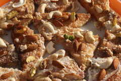 Shahi Tukda - A sweet from India Stock Images