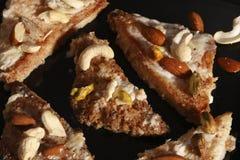 Shahi Tukda - A sweet from India Stock Image