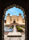 Shahi van het Lahorefort fortshahi kila lahore Pakistan stock fotografie