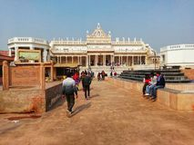 Shahji Temple famous tourist place in Vrindavan royalty free stock photos
