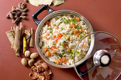 Shai Pilau or Vegetable Pilau Royalty Free Stock Image