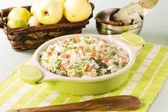 Shai Pilau or Vegetable Pilau Stock Photos