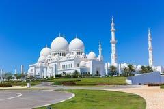 Shaiekh Zayed Mosque - Abu Dhabi Stockfotos