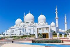 Shaiekh Zayed Mosque - Abu Dhabi Lizenzfreie Stockfotos