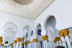 Shaiekh Zayed Mosque - Abu Dhabi Stockfotografie