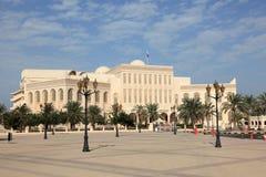 Shaikh Isa National Library in Manama stock fotografie