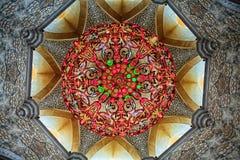 Shaikh zayed moskén i Abu Dhabi, UAE Arkivfoto