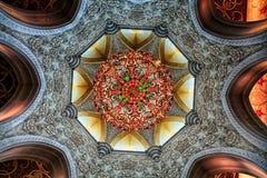Shaikh zayed moskén i Abu Dhabi, UAE Royaltyfri Fotografi