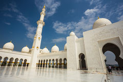 The Shaikh Zayed Mosque Stock Images