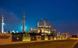 Shaikh Zayed Mosque Stockbilder