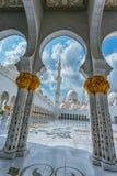 Shaikh Zayed Mosque Stockfoto