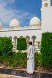 Shaikh Zayed Mosque Stockfotos